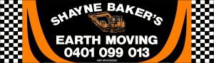 Shane Baker Earthmoving logo